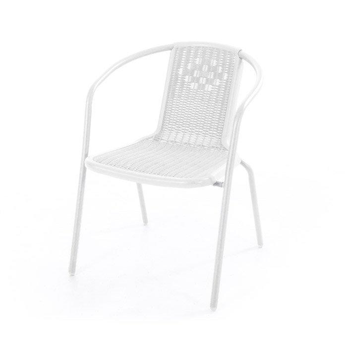 Sedie In Metallo E Plastica.Sedia Ios In Metallo E Plastica Arredogiardini It