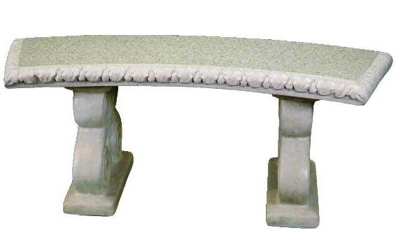 Panchine In Cemento Da Esterno.Panchina Ovale In Cemento Cm 120 X 38 H 45 Arredogiardini It