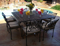 Tavolo Sedie Giardino Cemento.Set Giardino Salotto Da Giardino Arredogiardini It