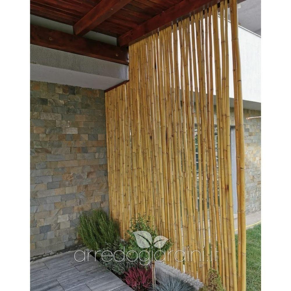 25 Pz Canne Di Bambù Ø 1CM dalla base Altezza  150CM per Orto O decorazione.
