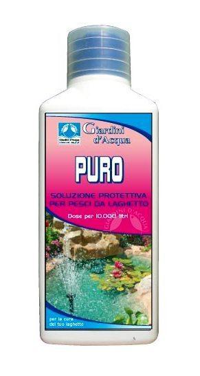Puro disinfettante x pesci da laghetto for Pesci per laghetto prezzi